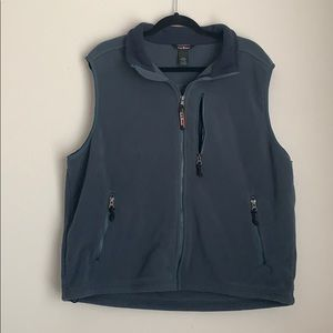 L.L BEAN | fleece vest